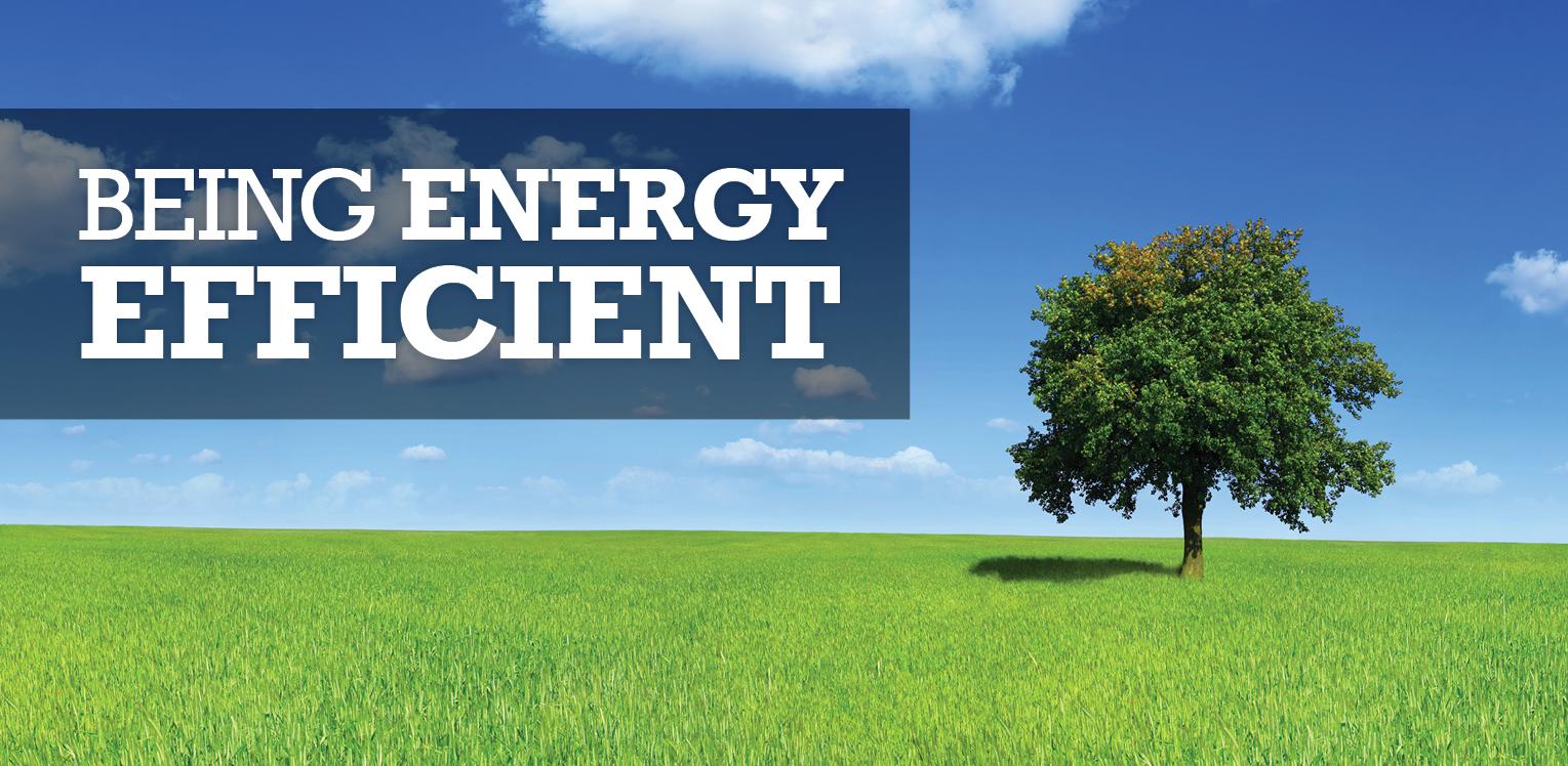 Being Energy Efficent Blog