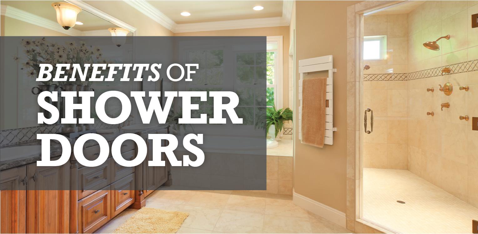 Benefits of Shower Doors Image