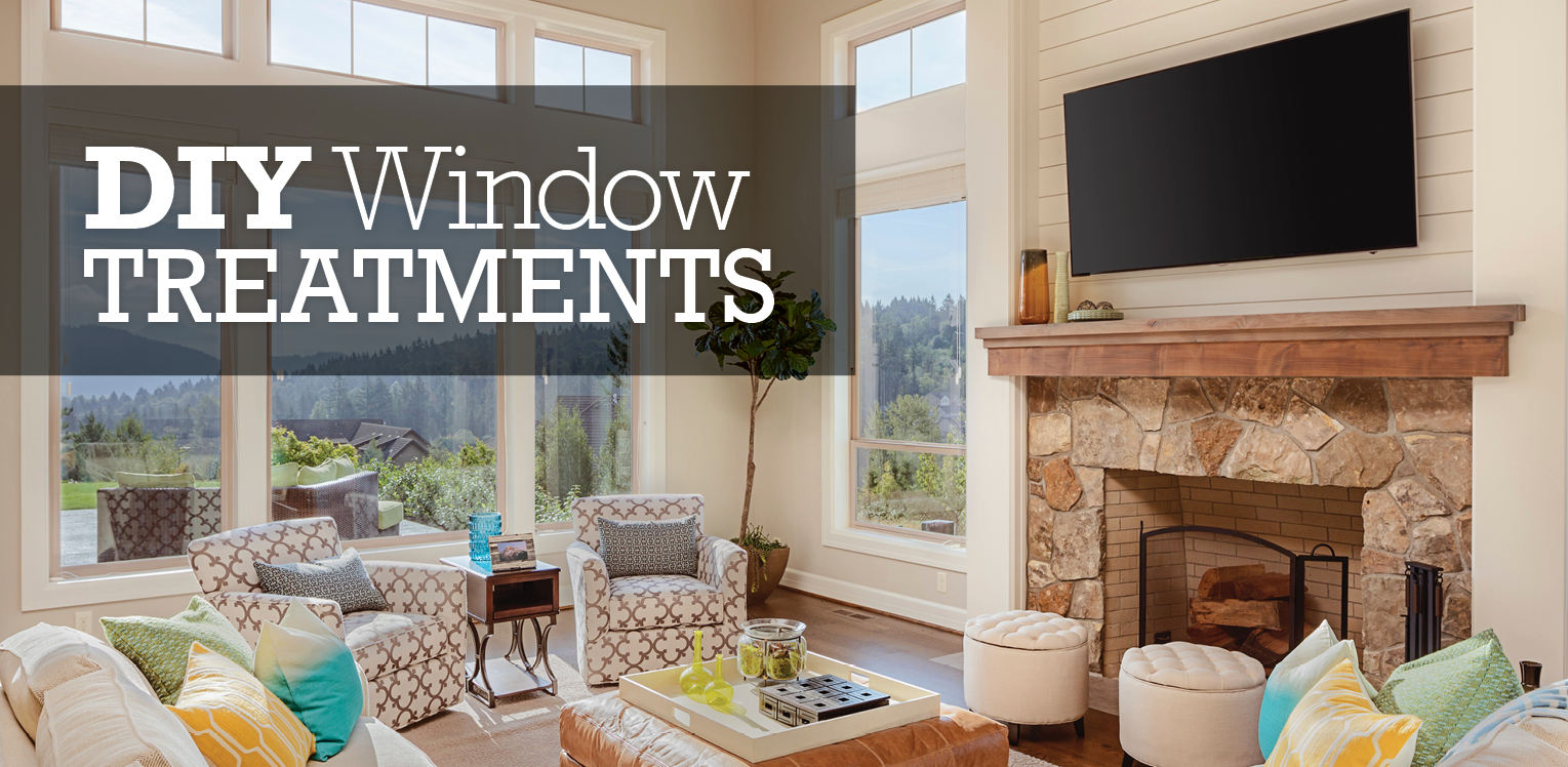Diy Window Treatments Glass Doctor