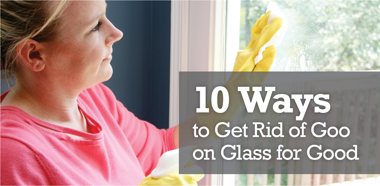how to get rid of superglue on glass