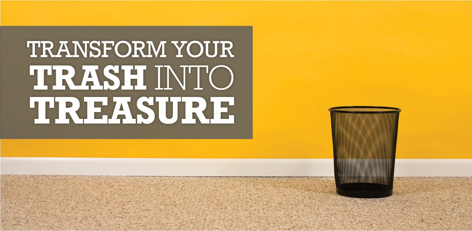 Transform Your Trash To Treasure image