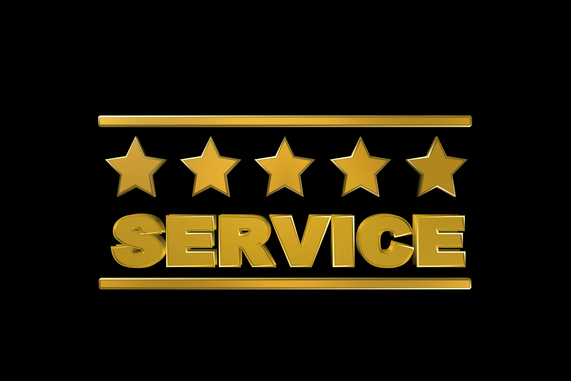 service, 5 star service, quality, rating, ranking, star