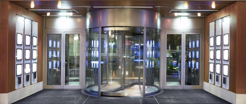 Office Building Door in Arlington