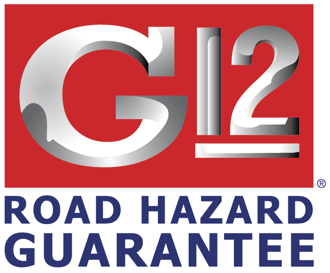 G12 Road Hazard Guarantee Logo