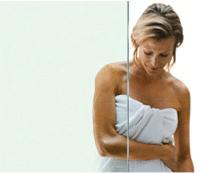 ShowerGuard shower glass clear finish