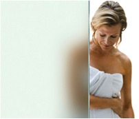 ShowerGuard shower glass Satin Deco finish
