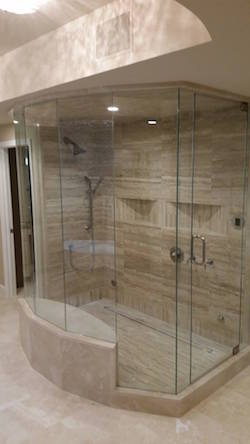 beautiful steam shower enclosures