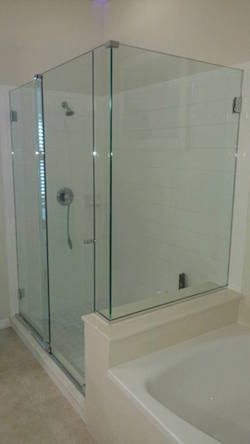 90 degree essence series shower enclosure