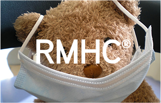 RMHC logo and teddy bear