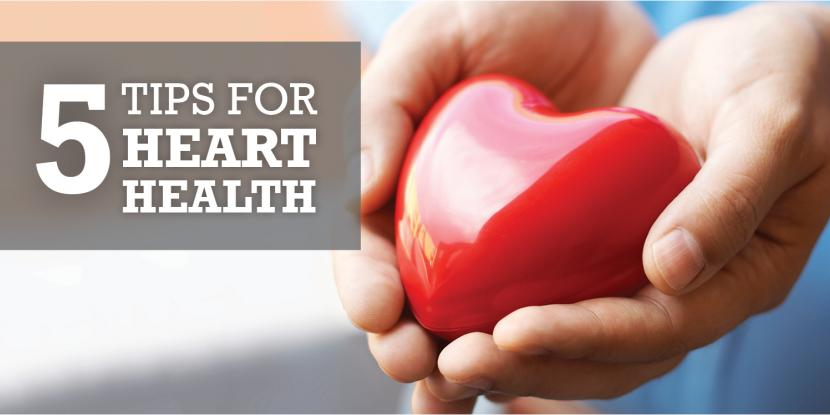Five Tips for Heart Health image