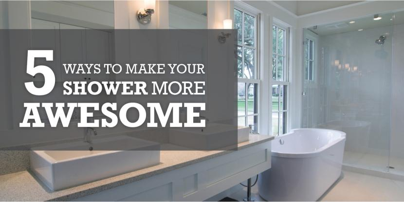 5 Ways to Make Your Shower More Awesome image