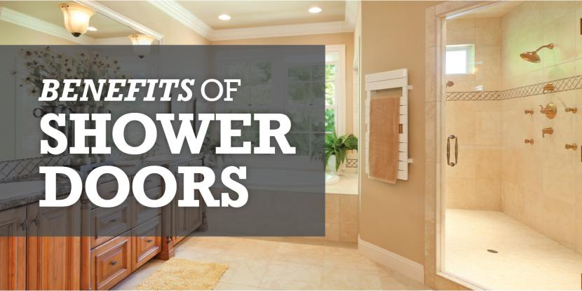 Benefits of Shower Doors Image
