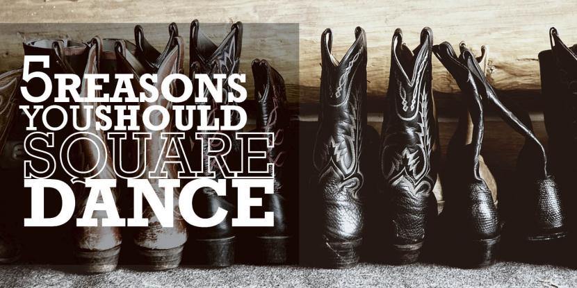 5 Reasons you Should Square Dance image