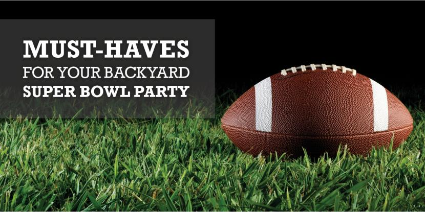 Must-Haves For Your Backyard Super Bowl Party image