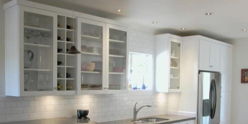 How To Add Glass Kitchen Cabinet, Kitchen Cabinet Doors With Frosted Glass Panels
