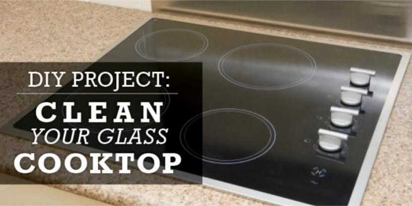 A glass cooktop