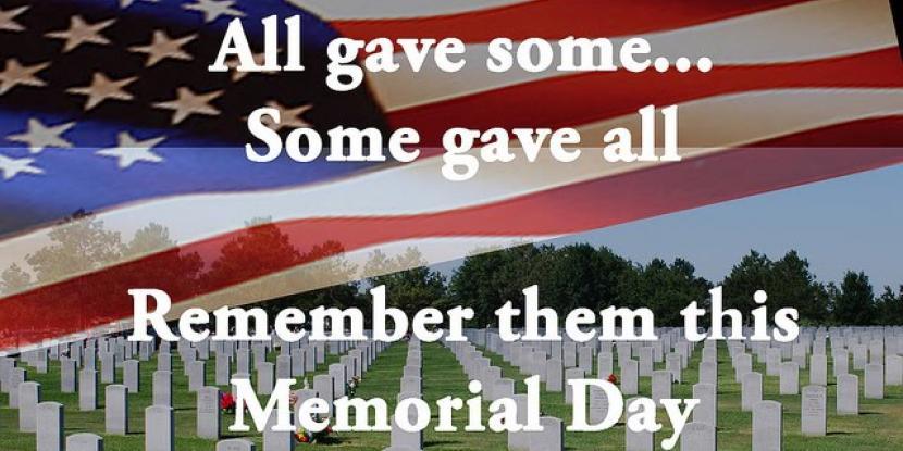 Memorial Day Weekend, Memorial Day