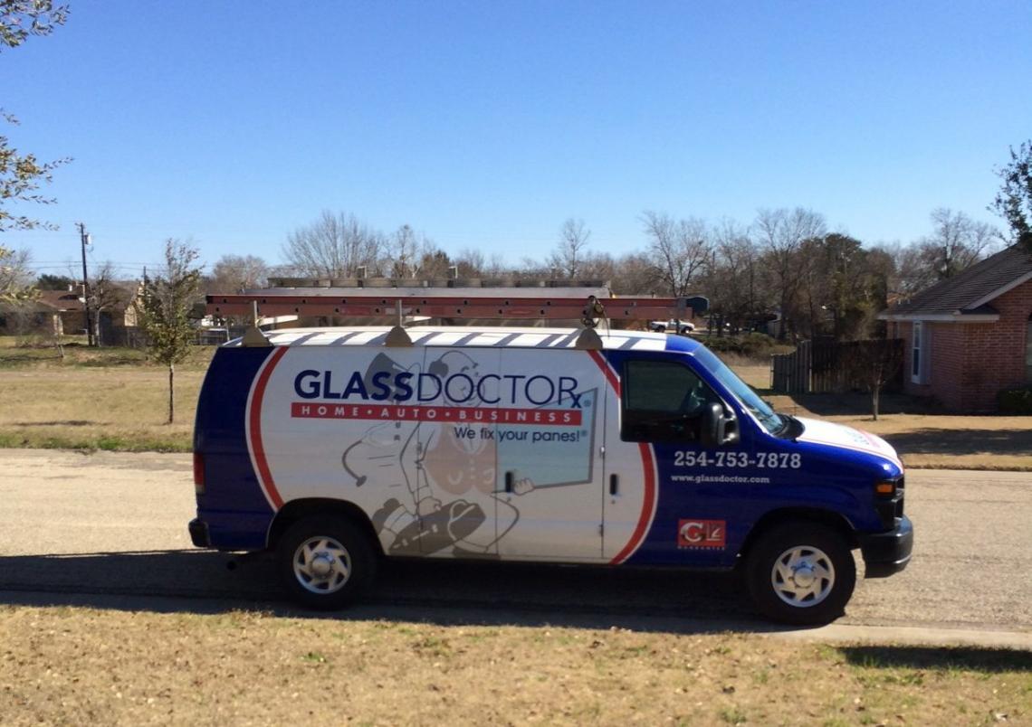 Custom decorative glass inserts