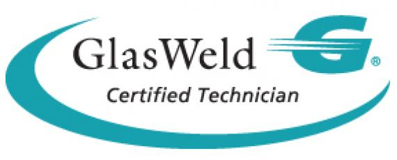 GlasWeld Technician Certification for Glass Doctor of Central Arkansas