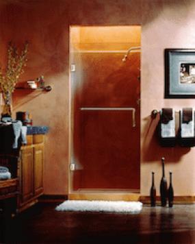 Door or Door with a Panel Shower Design