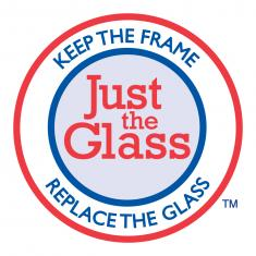 keep the frame replace the glass