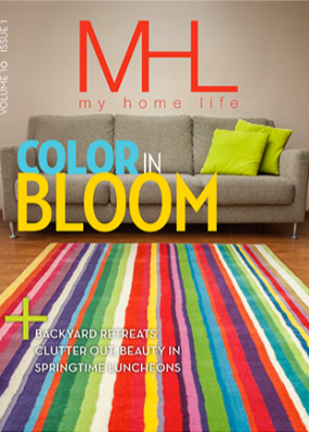 My Home Life Magazine cover image