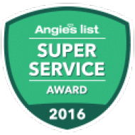 2016 Angie's List Super Service Award Winner