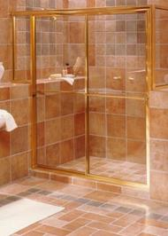 rectangle shower enclosure with frames